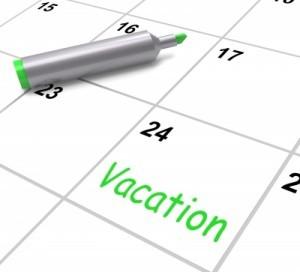 vacaciones laborales